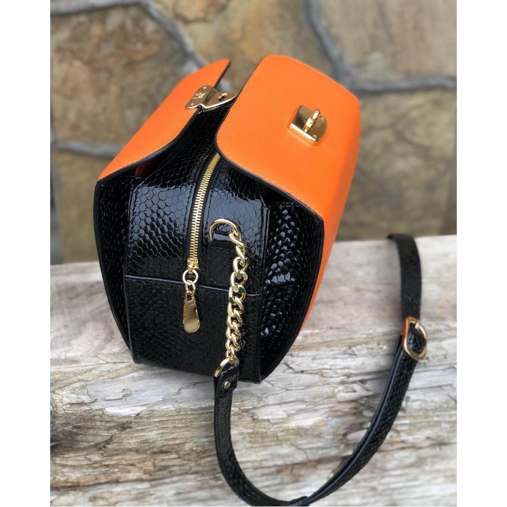 Жіноча шкіряна сумка кросс-боді Angie KF-2278-7