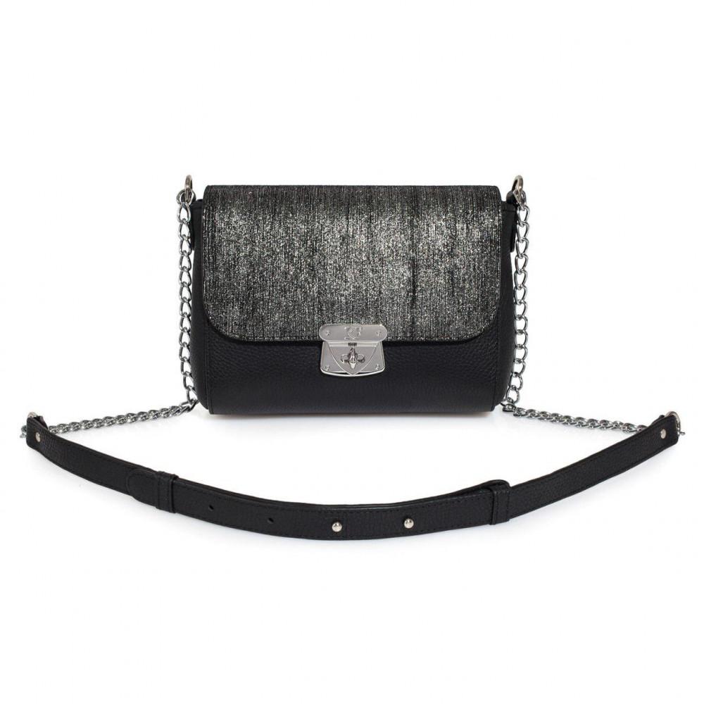 Жіноча шкіряна сумка на ланцюжку Prima S KF-2370