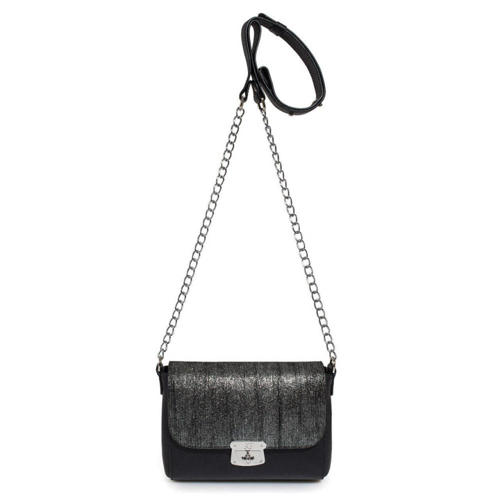Жіноча шкіряна сумка на ланцюжку Prima S KF-2370-2
