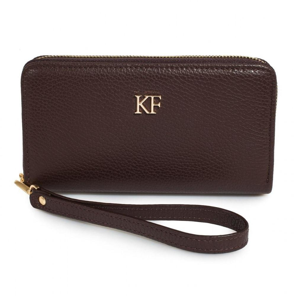 Жіночий шкіряний гаманець Classic KF-2437
