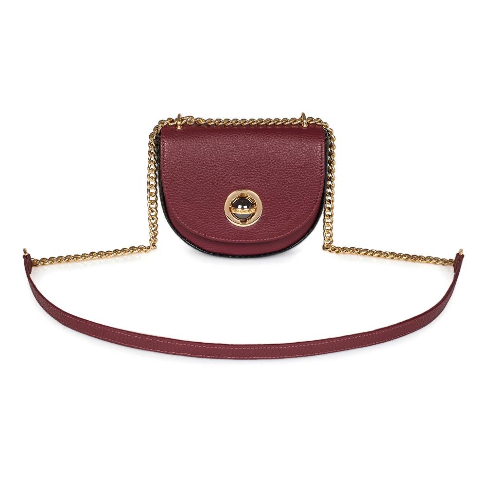 Жіноча шкіряна сумка на ланцюжку Milena KF-2452-