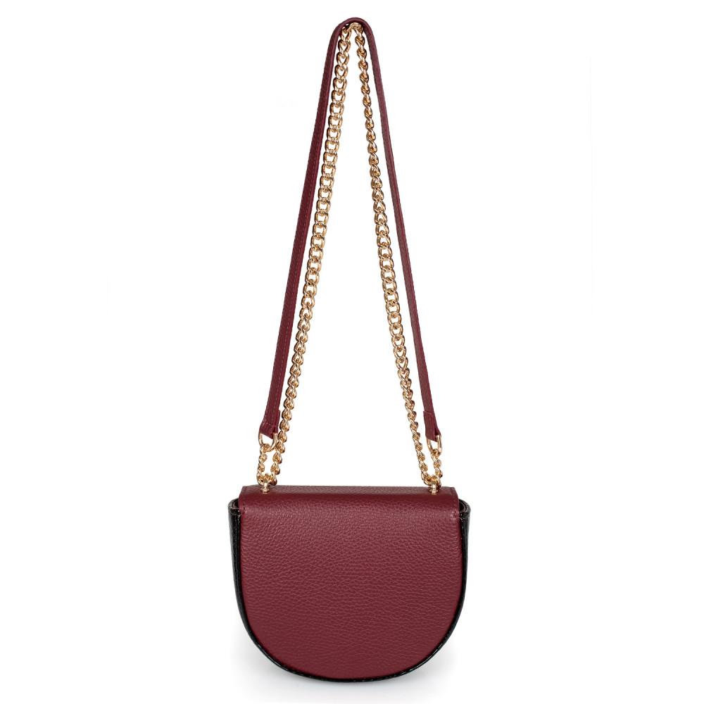 Жіноча шкіряна сумка на ланцюжку Milena KF-2452-2
