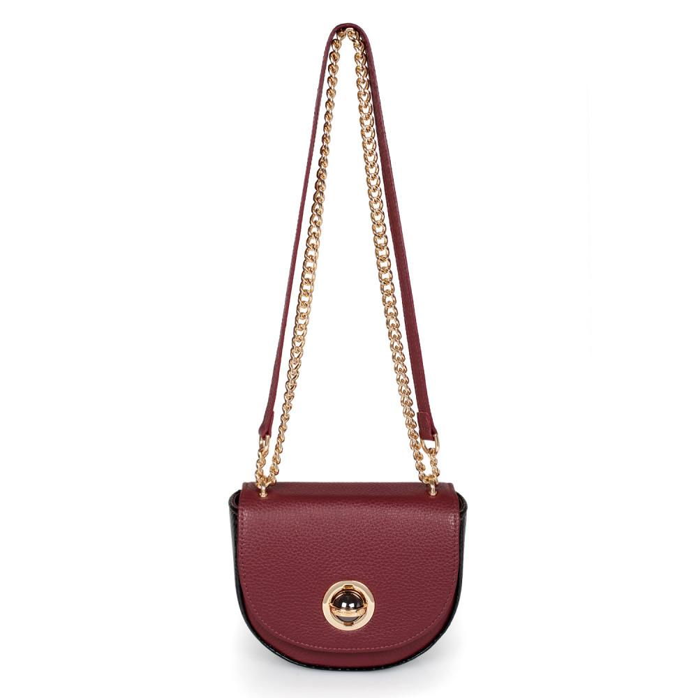 Жіноча шкіряна сумка на ланцюжку Milena KF-2452-3