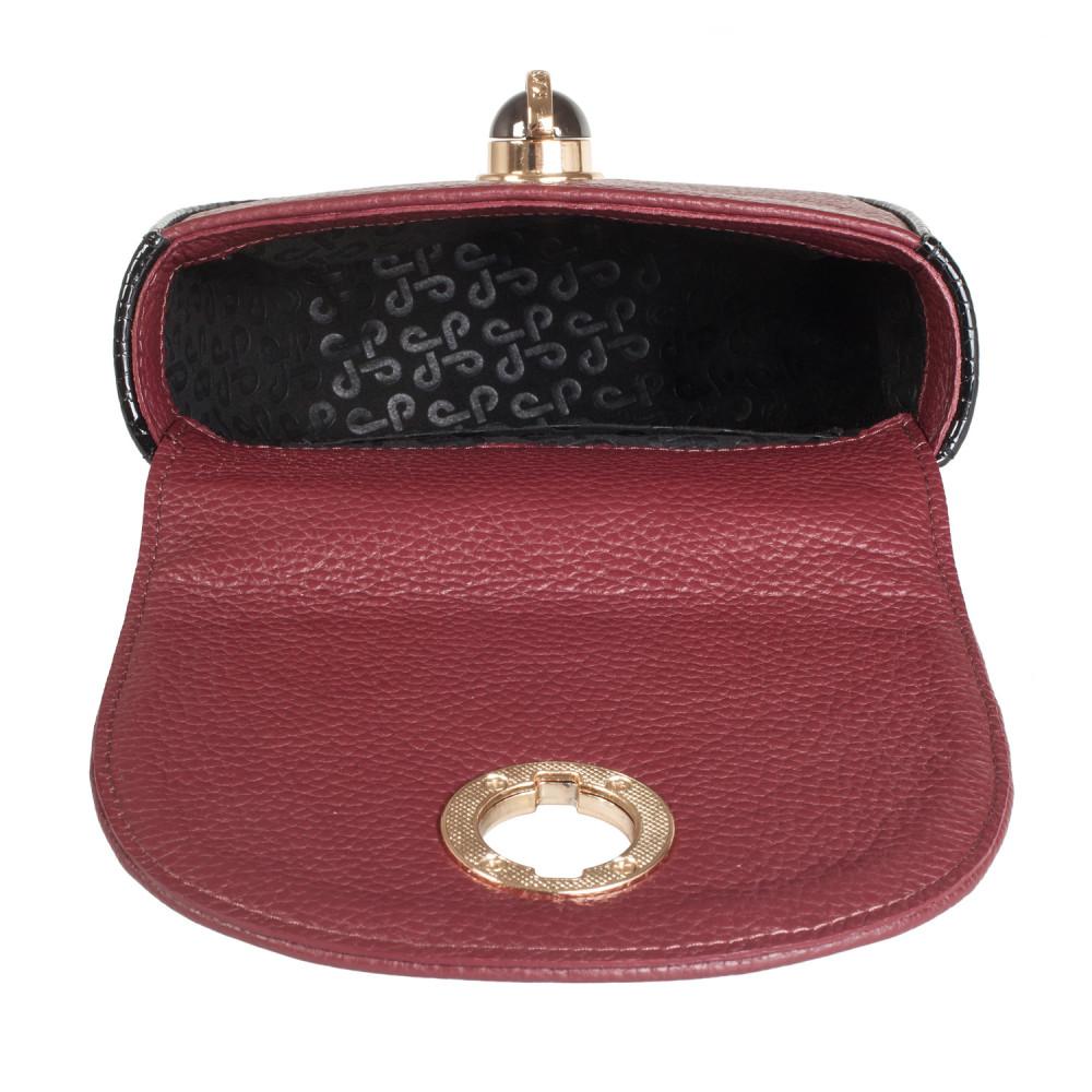 Жіноча шкіряна сумка на ланцюжку Milena KF-2452-4
