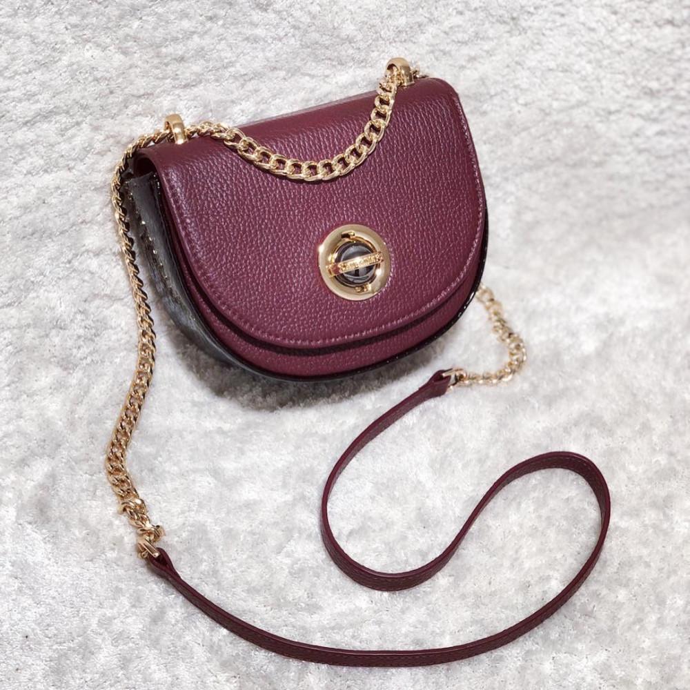 Жіноча шкіряна сумка на ланцюжку Milena KF-2452-5