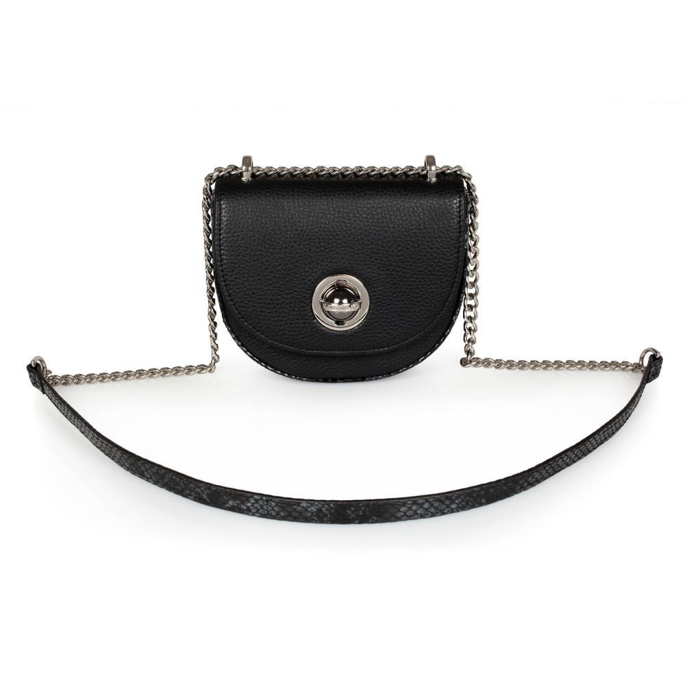 Жіноча шкіряна сумка на ланцюжку Milena KF-2474-