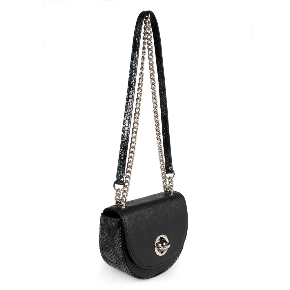 Жіноча шкіряна сумка на ланцюжку Milena KF-2474-1