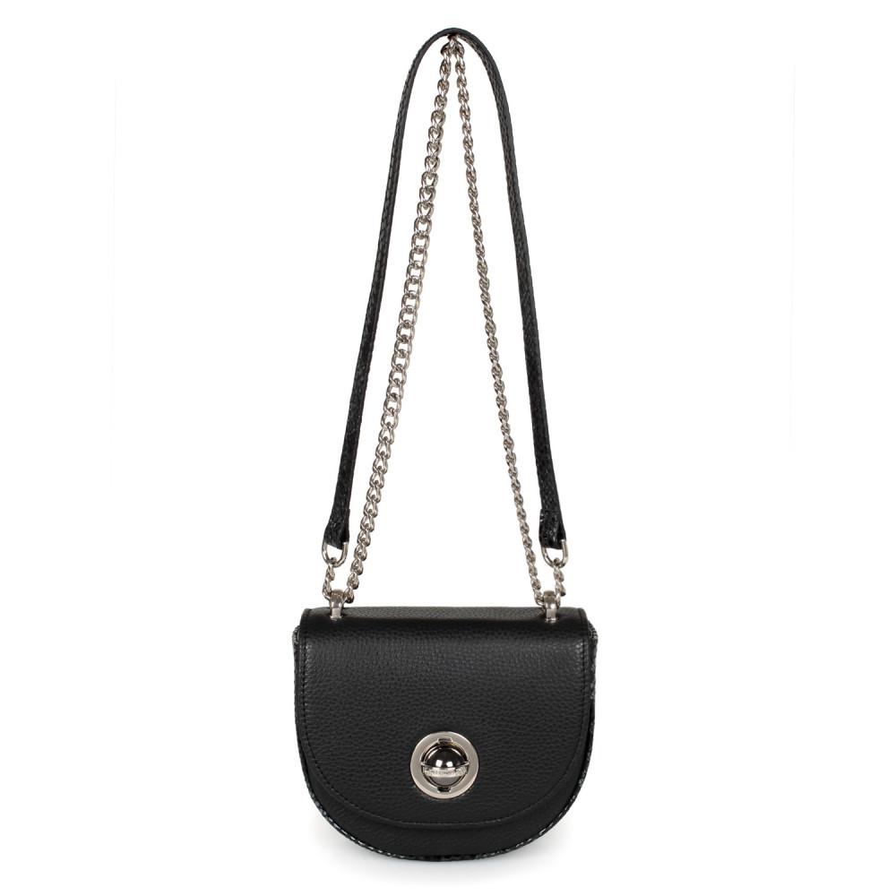 Жіноча шкіряна сумка на ланцюжку Milena KF-2474-2