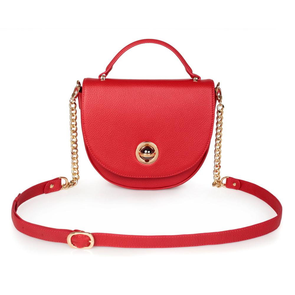 Жіноча шкіряна сумка  кросс-боді Lena KF-2482-