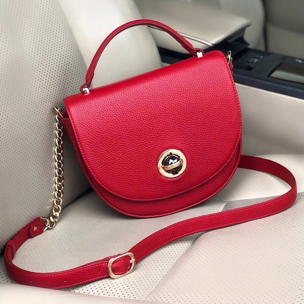 Жіноча шкіряна сумка  кросс-боді Lena KF-2482-5