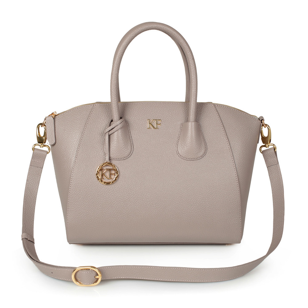 Жіноча шкіряна сумка Valeriya KF-2488