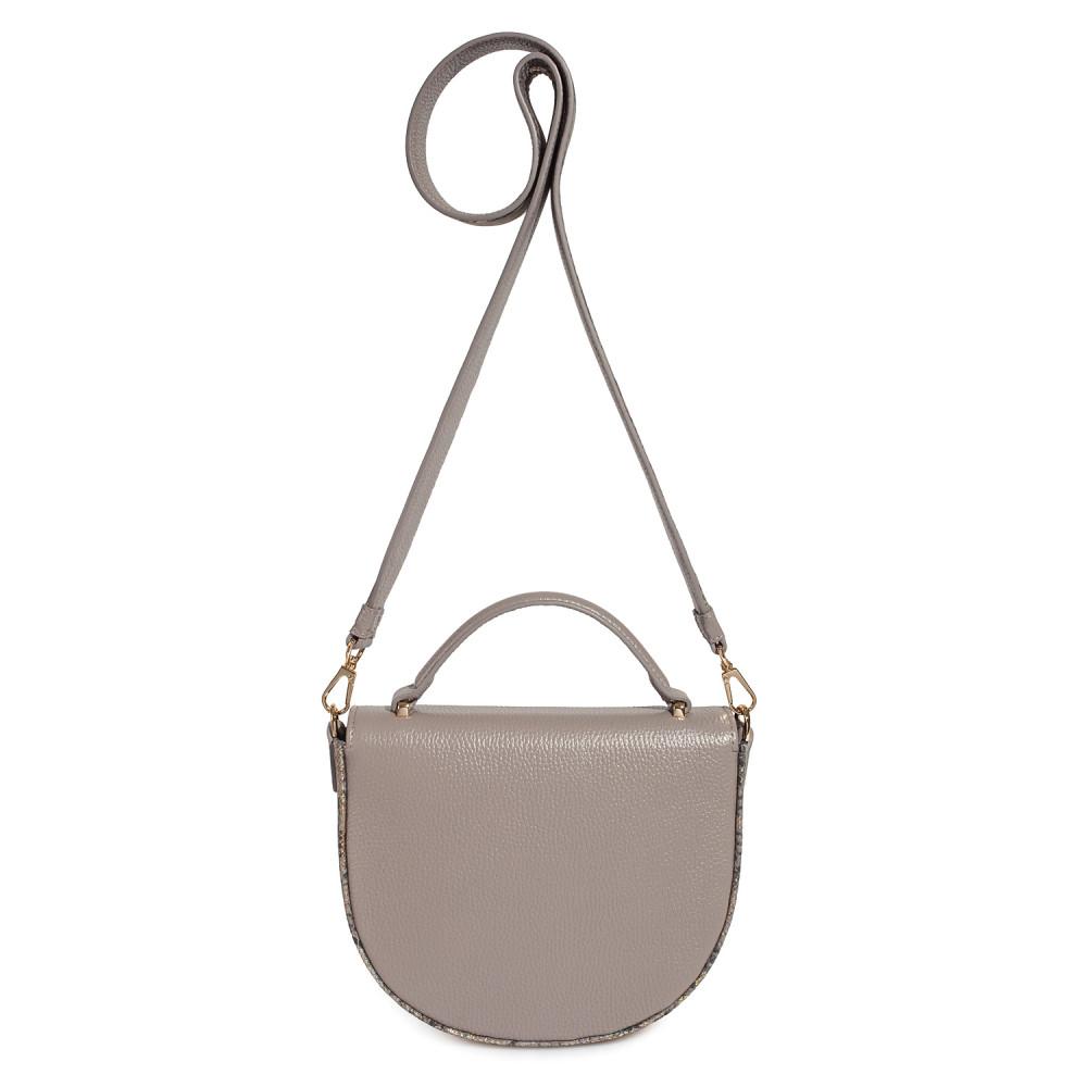 Жіноча шкіряна сумка кросс-боді на широкому ремені Lena KF-2503-2