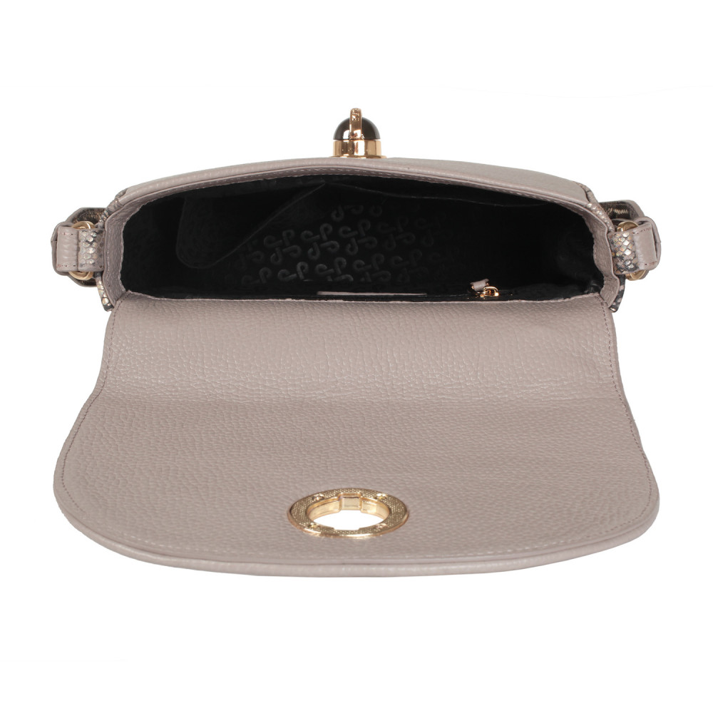 Жіноча шкіряна сумка кросс-боді на широкому ремені Lena KF-2503-3