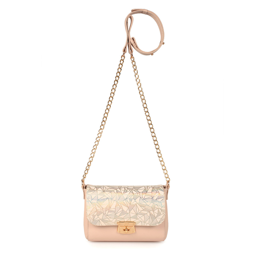 Women's leather bag on a chain Prima S KF-2546-2
