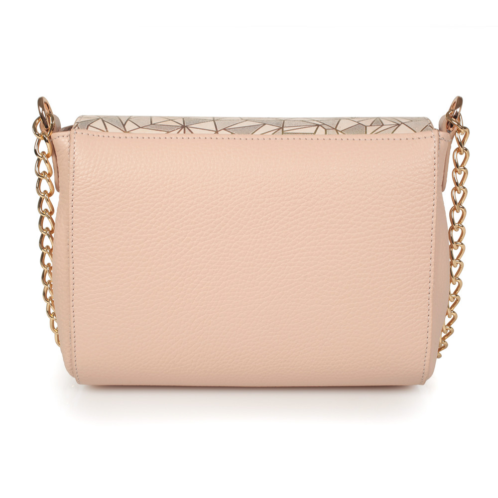 Women's leather bag on a chain Prima S KF-2546-3