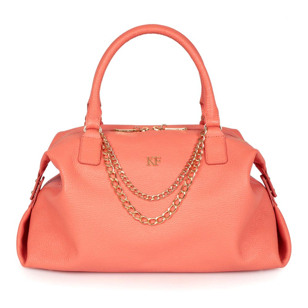 Жіноча шкіряна сумка Mary KF-2550