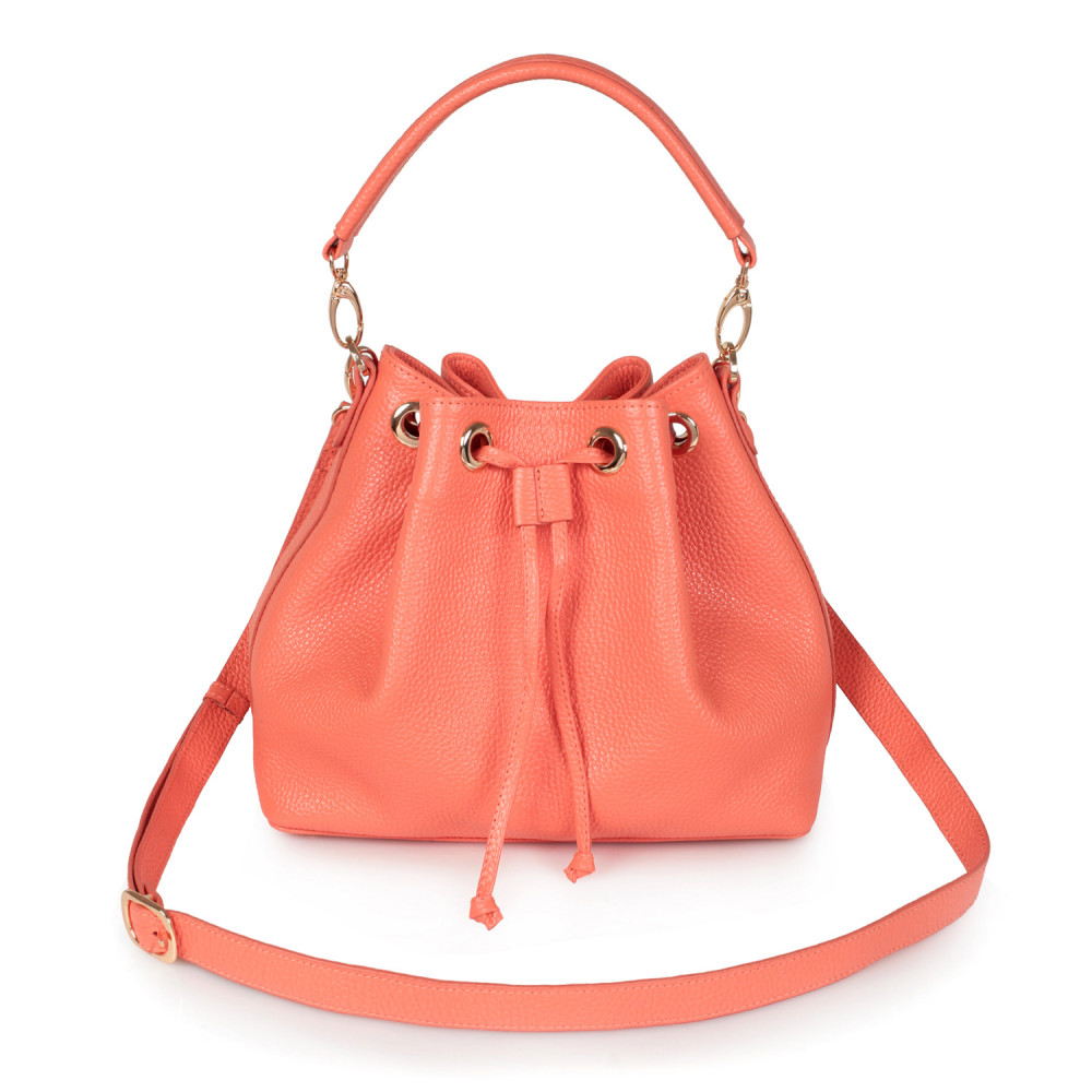 Women's leather Hobo bag Sonya KF-2551