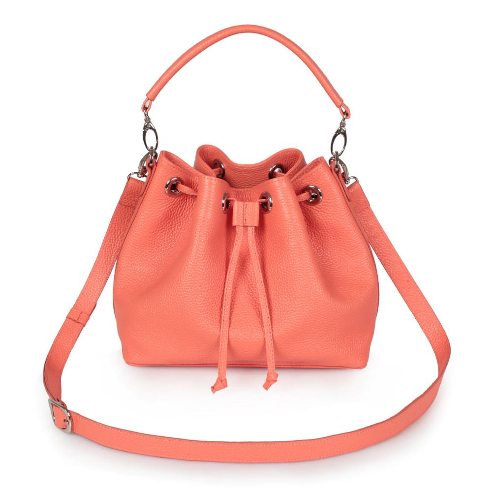 Women's leather Hobo bag Sonya KF-2552