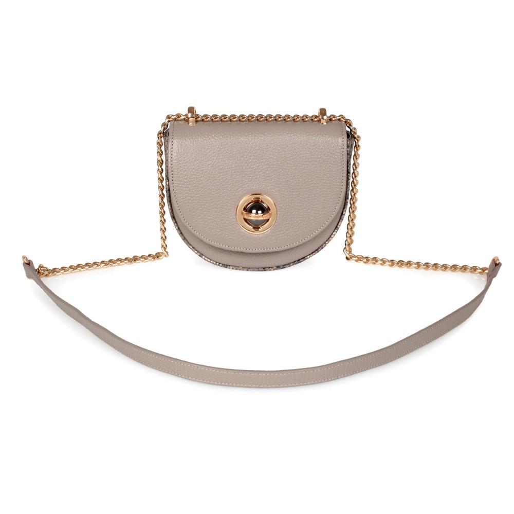 Жіноча шкіряна сумка на ланцюжку Milena KF-2554-