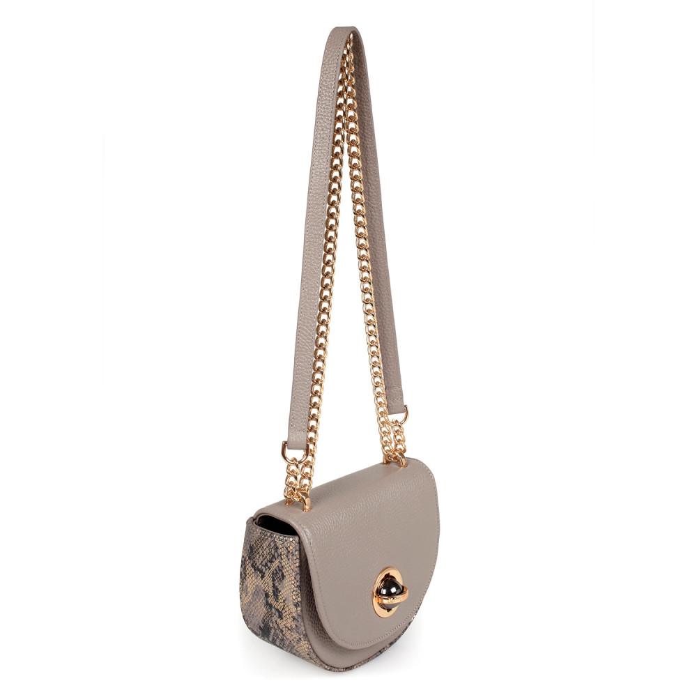 Жіноча шкіряна сумка на ланцюжку Milena KF-2554-1