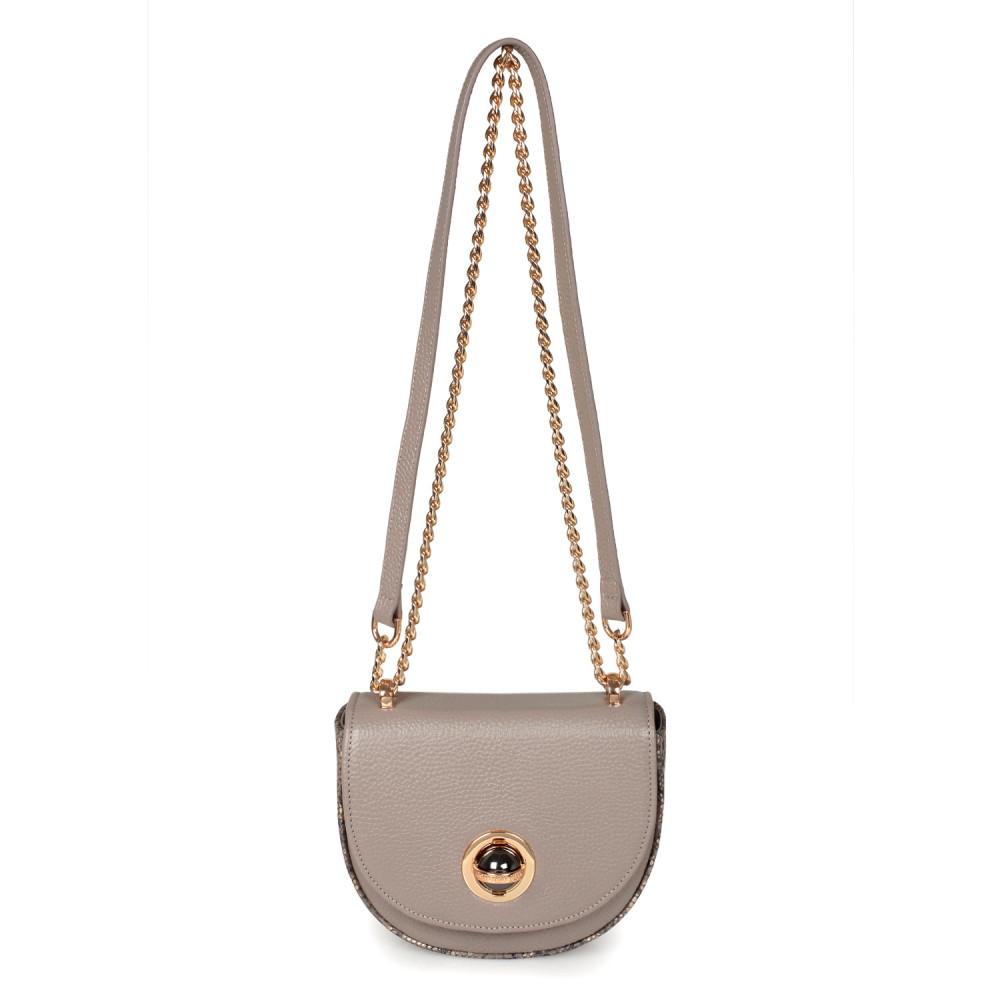 Жіноча шкіряна сумка на ланцюжку Milena KF-2554-2
