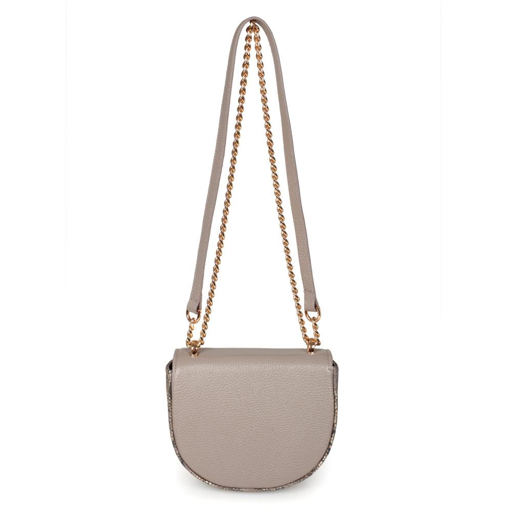 Жіноча шкіряна сумка на ланцюжку Milena KF-2554-3