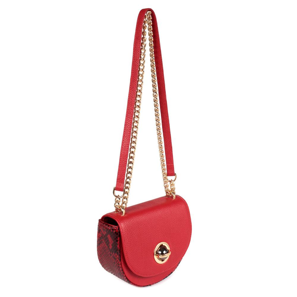 Жіноча шкіряна сумка на ланцюжку Milena KF-2560-