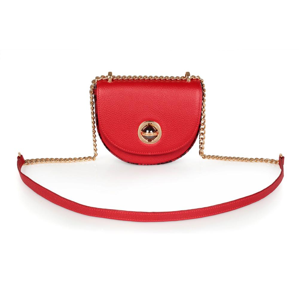 Жіноча шкіряна сумка на ланцюжку Milena KF-2560-1