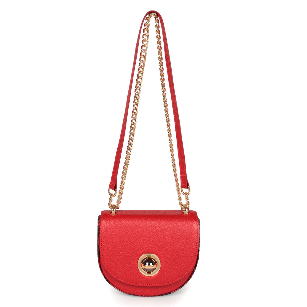 Жіноча шкіряна сумка на ланцюжку Milena KF-2560-2