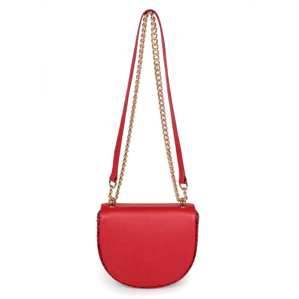 Жіноча шкіряна сумка на ланцюжку Milena KF-2560-3