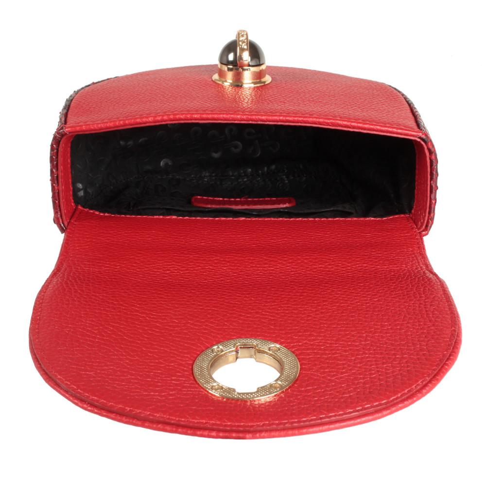 Жіноча шкіряна сумка на ланцюжку Milena KF-2560-4