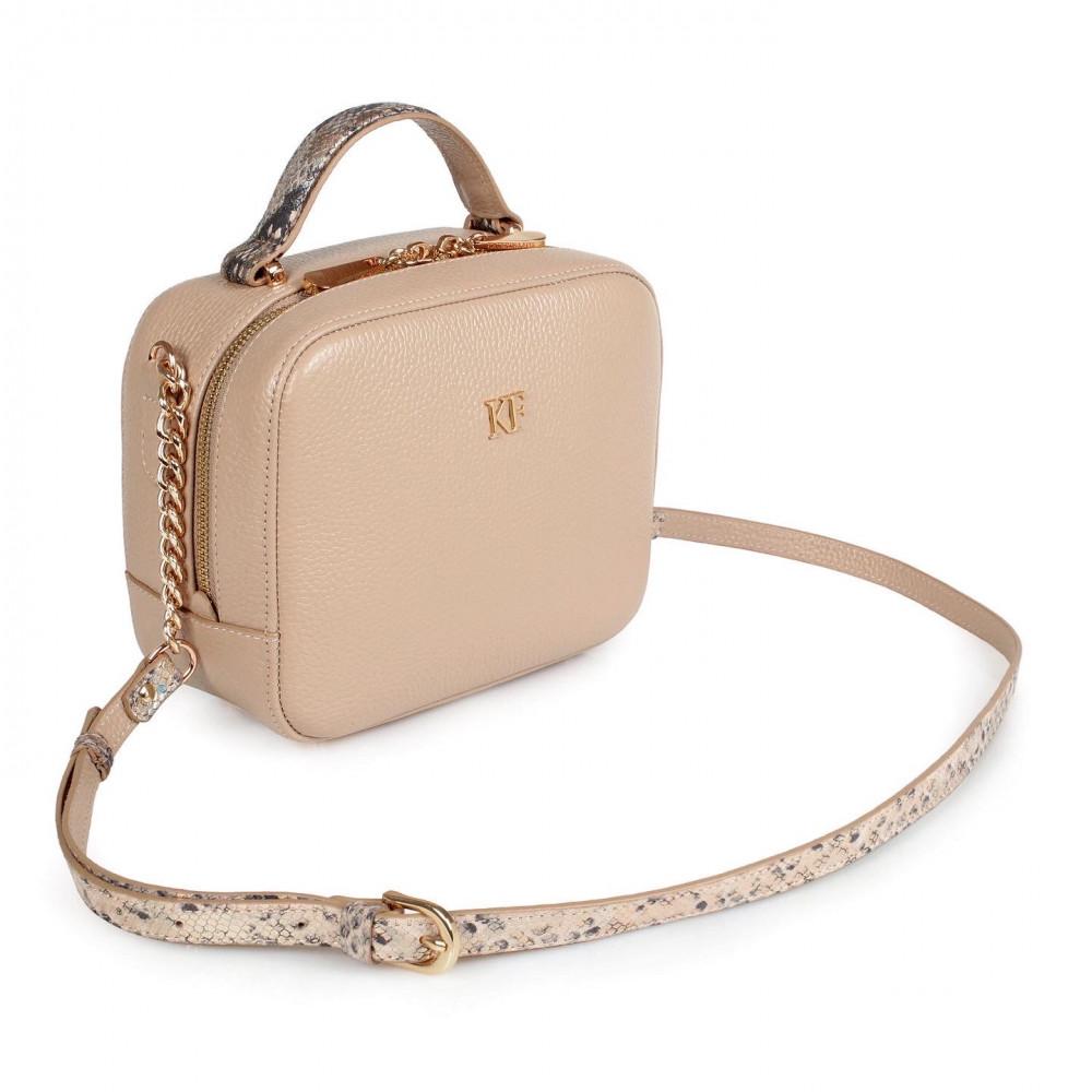 Жіноча шкіряна сумка кросс-боді Casey KF-2610-1