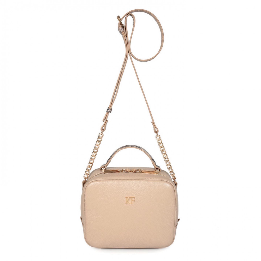Жіноча шкіряна сумка кросс-боді Casey KF-2610-2