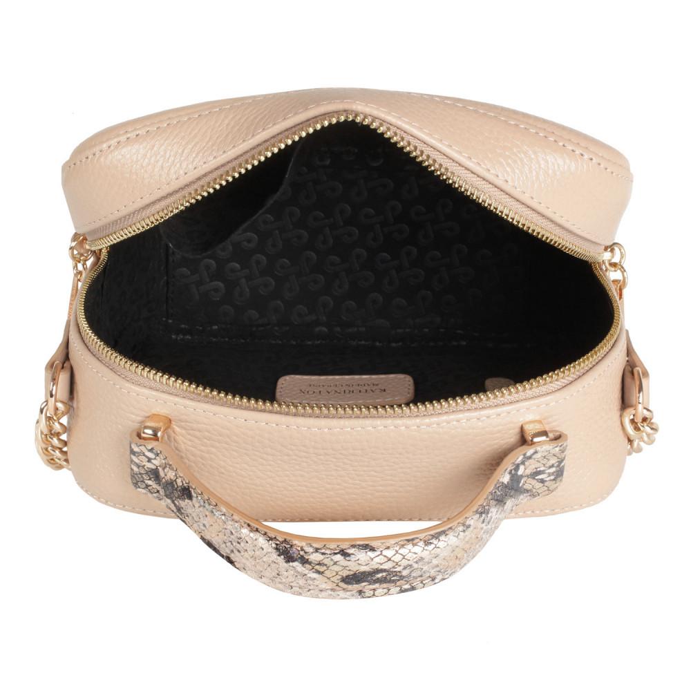 Жіноча шкіряна сумка кросс-боді Casey KF-2610-4