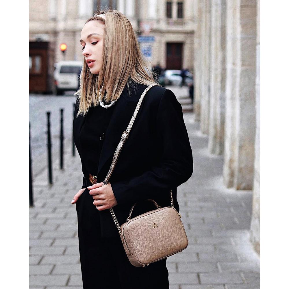 Жіноча шкіряна сумка кросс-боді Casey KF-2610-7