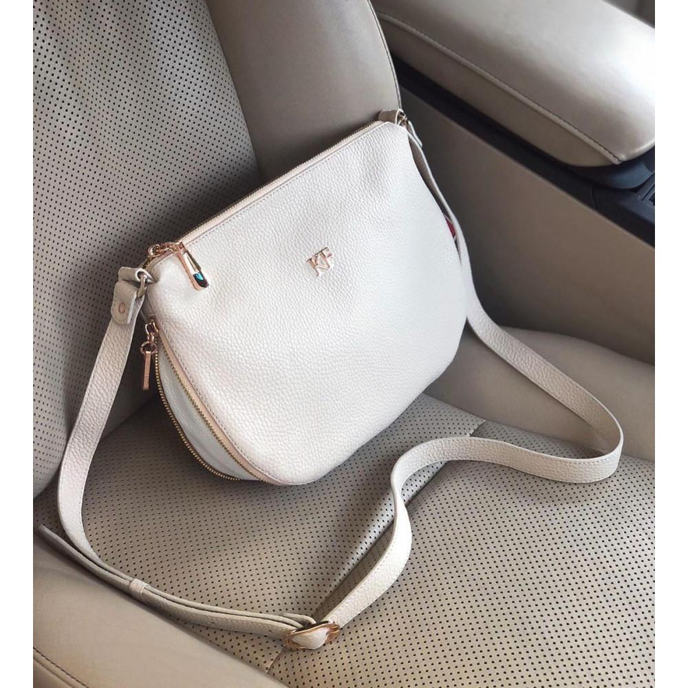 Жіноча шкіряна сумка кросс-боді Mia KF-262