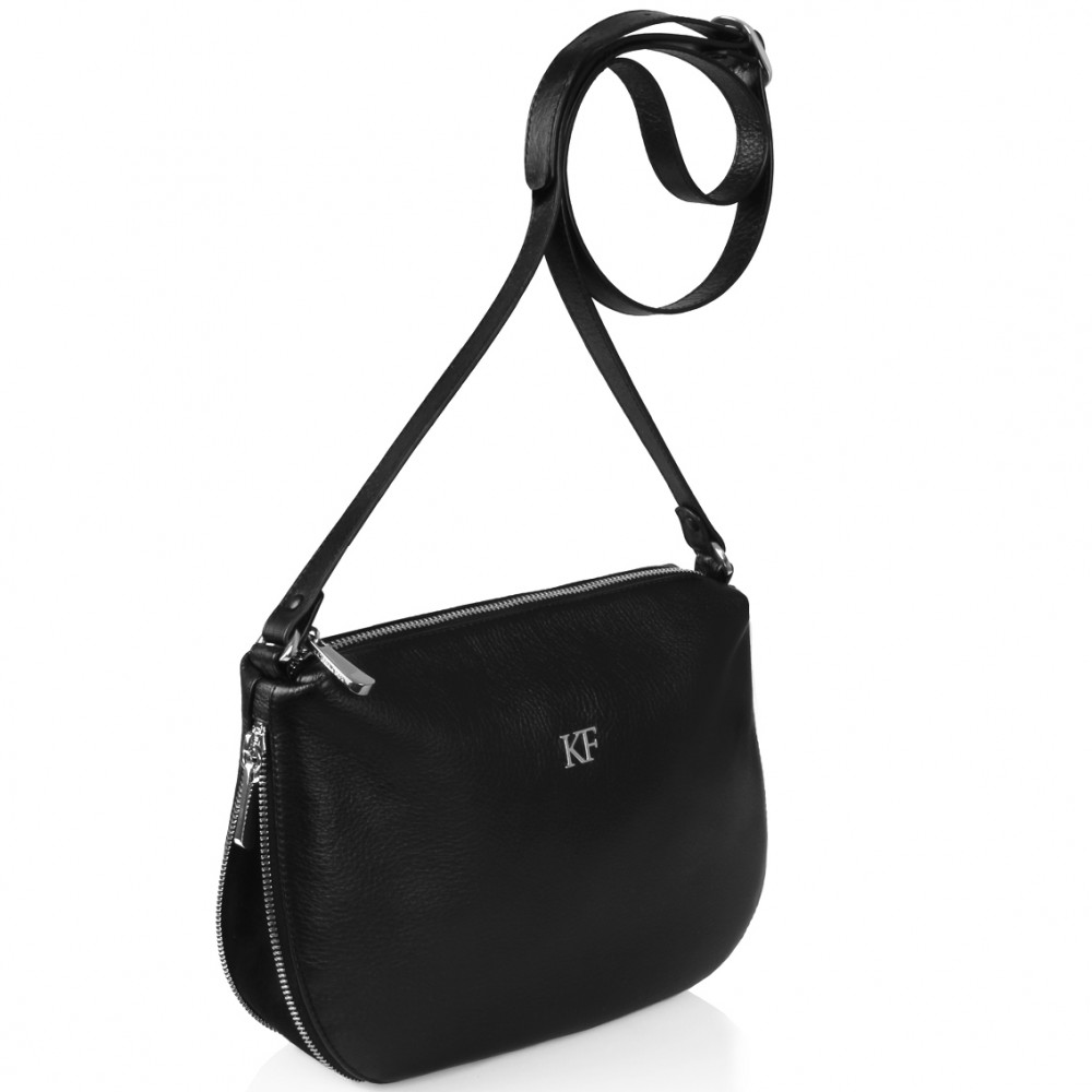 Women's leather crossbody bag Mia KF-264-