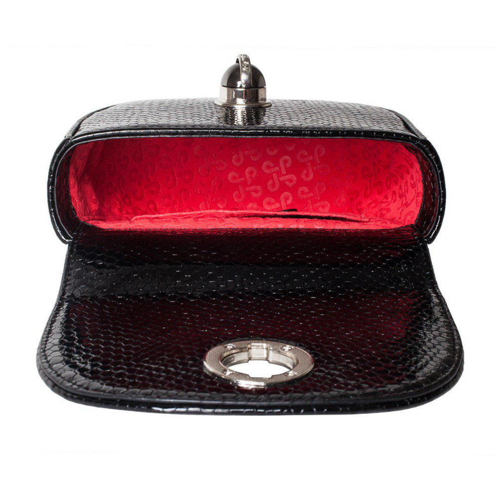 Women's leather bag on a chain Milena KF-2648-4