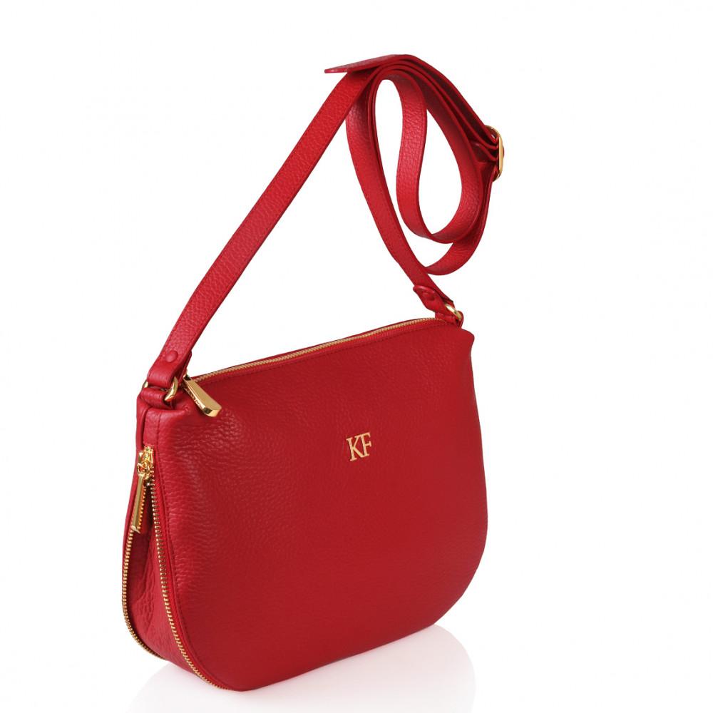 Жіноча шкіряна сумка кросс-боді Mia KF-265