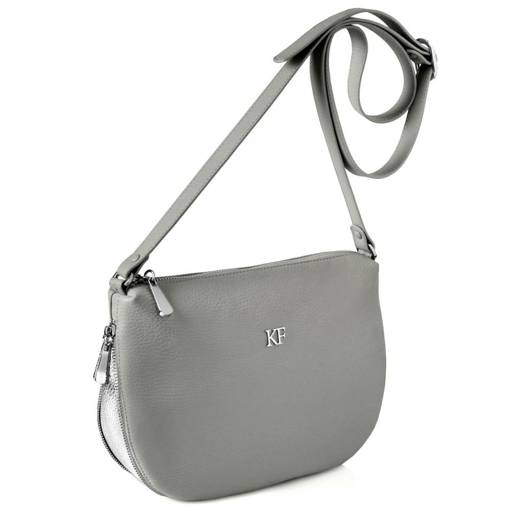 Жіноча шкіряна сумка кросс-боді Mia KF-266-