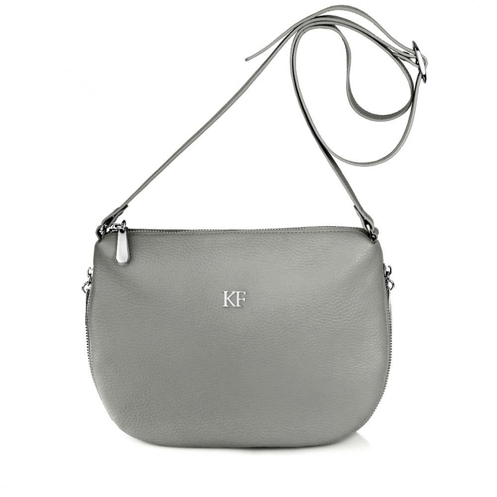 Women's leather crossbody bag Mia KF-266-1