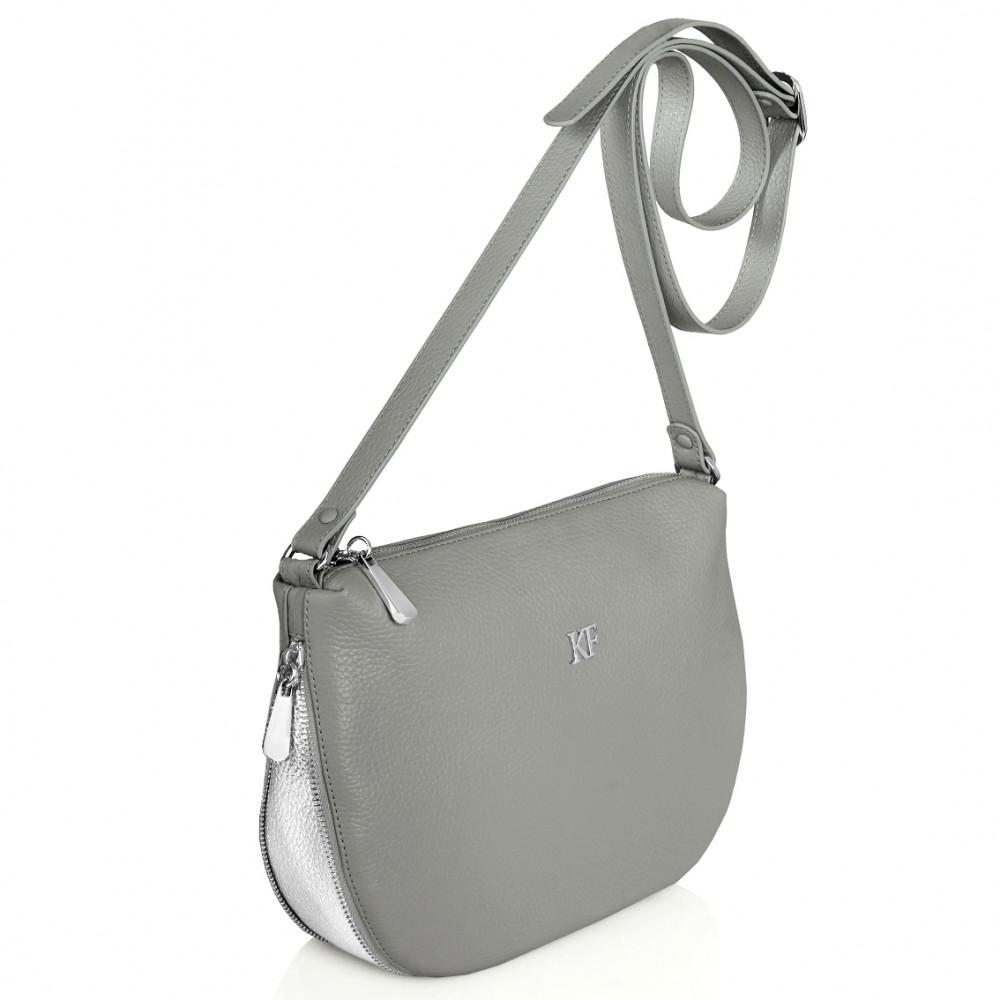 Women's leather crossbody bag Mia KF-266-2
