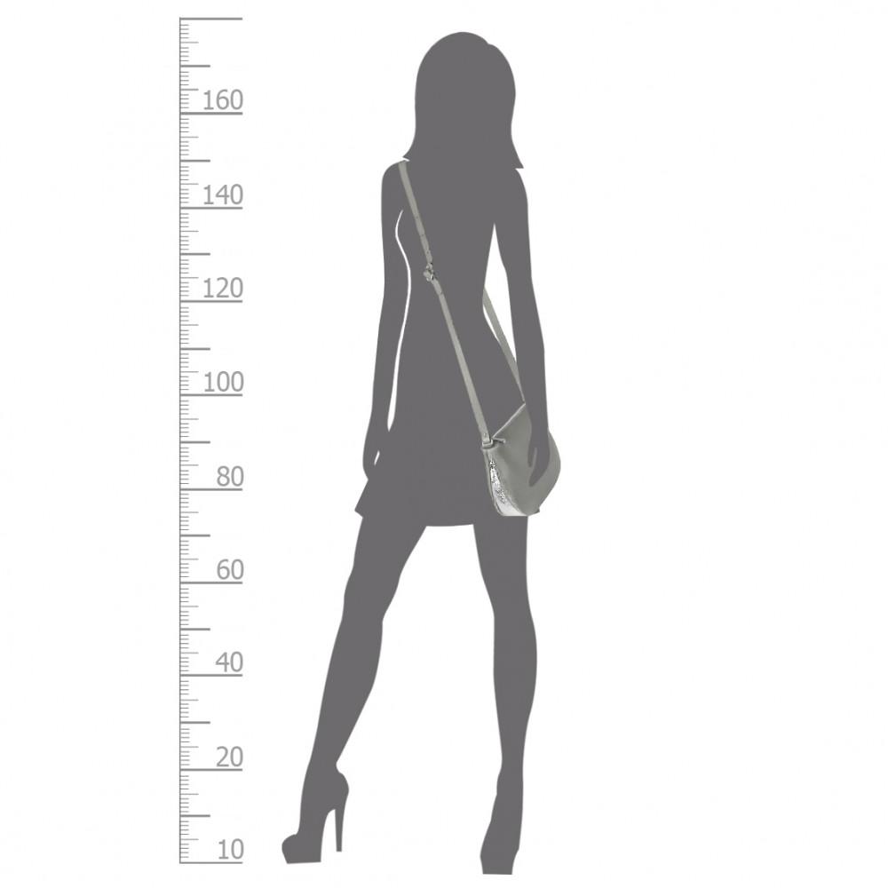 Жіноча шкіряна сумка кросс-боді Mia KF-266-5