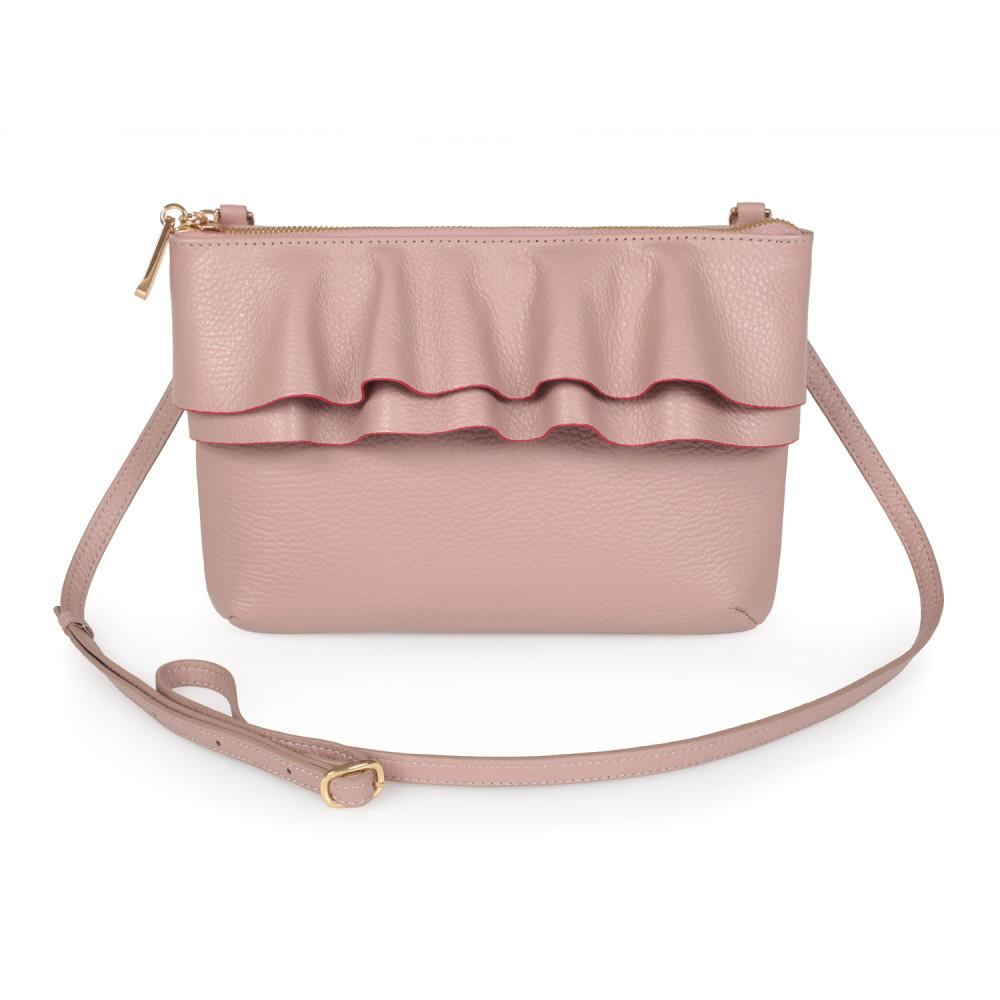 Жіноча шкіряна сумка кросс-боді Esmi KF-2675