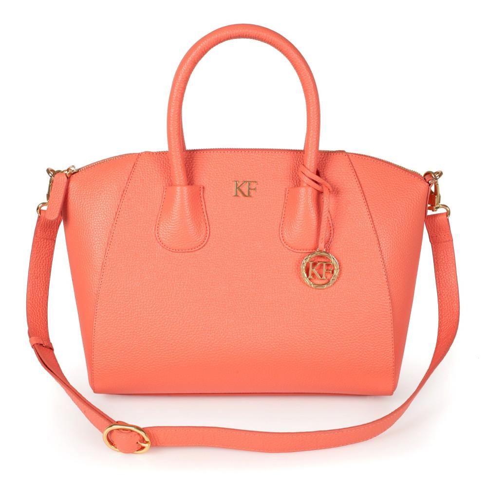 Жіноча шкіряна сумка Valeriya KF-2694