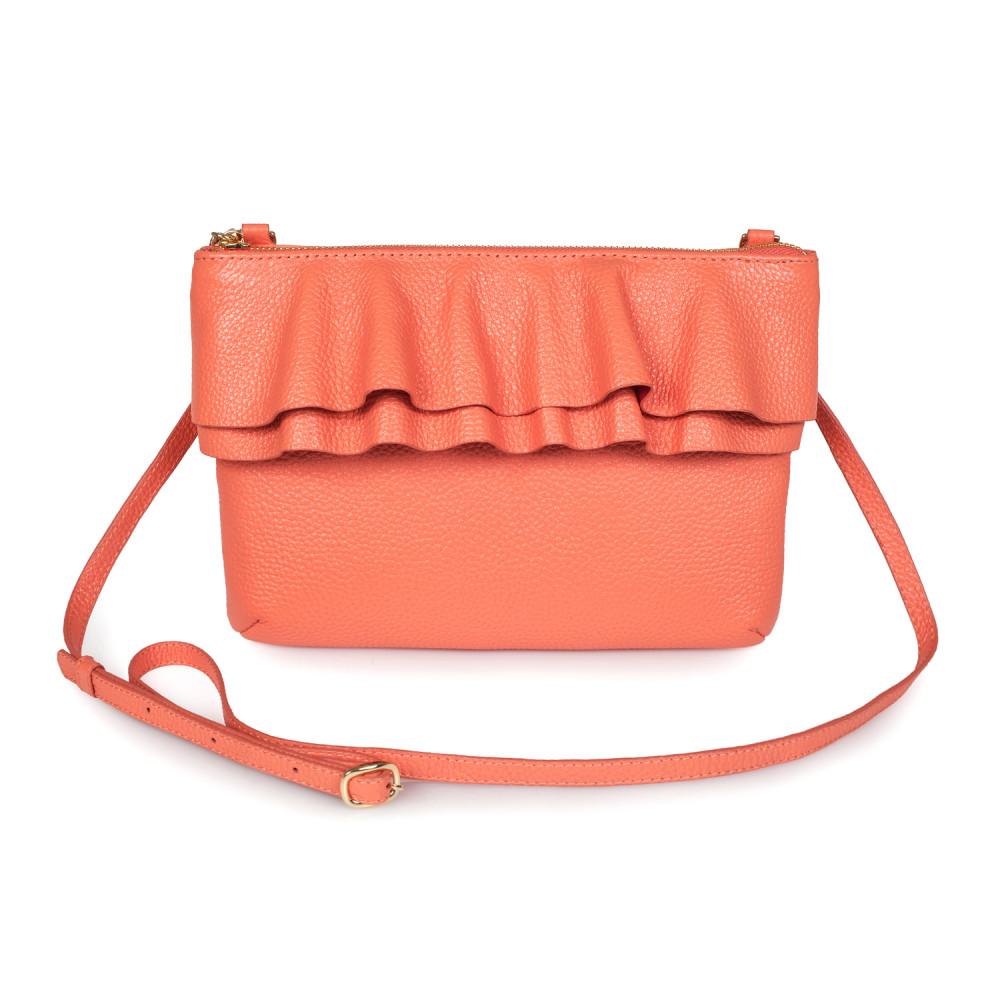 Жіноча шкіряна сумка кросс-боді Esmi KF-2700