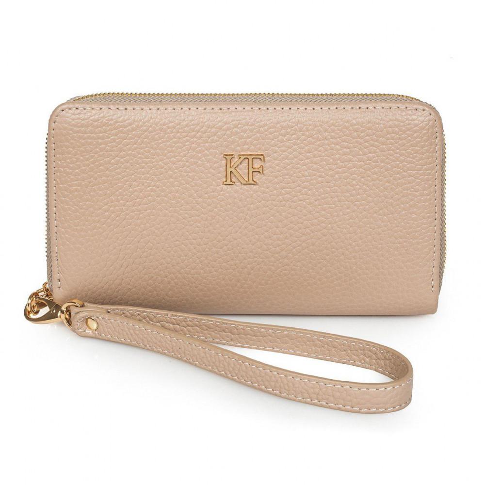 Жіночий шкіряний гаманець Classic KF-2716