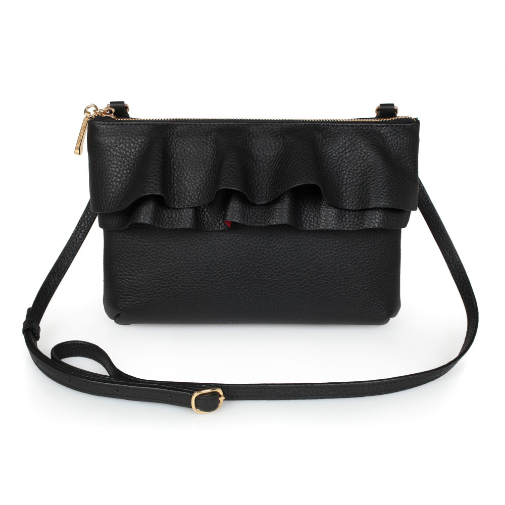 Жіноча шкіряна сумка кросс-боді Esmi KF-2722