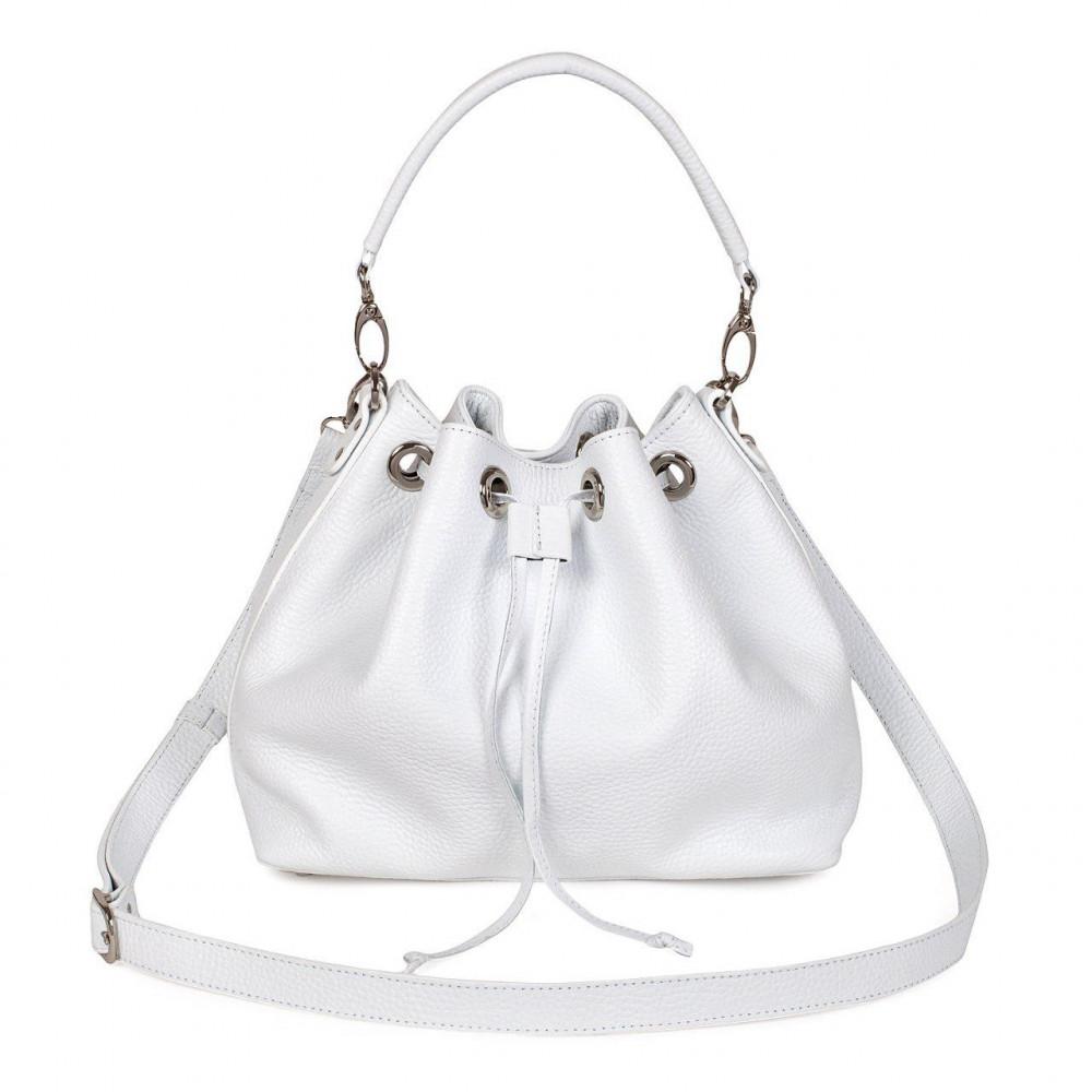 Women's leather Hobo bag Sonya KF-2738