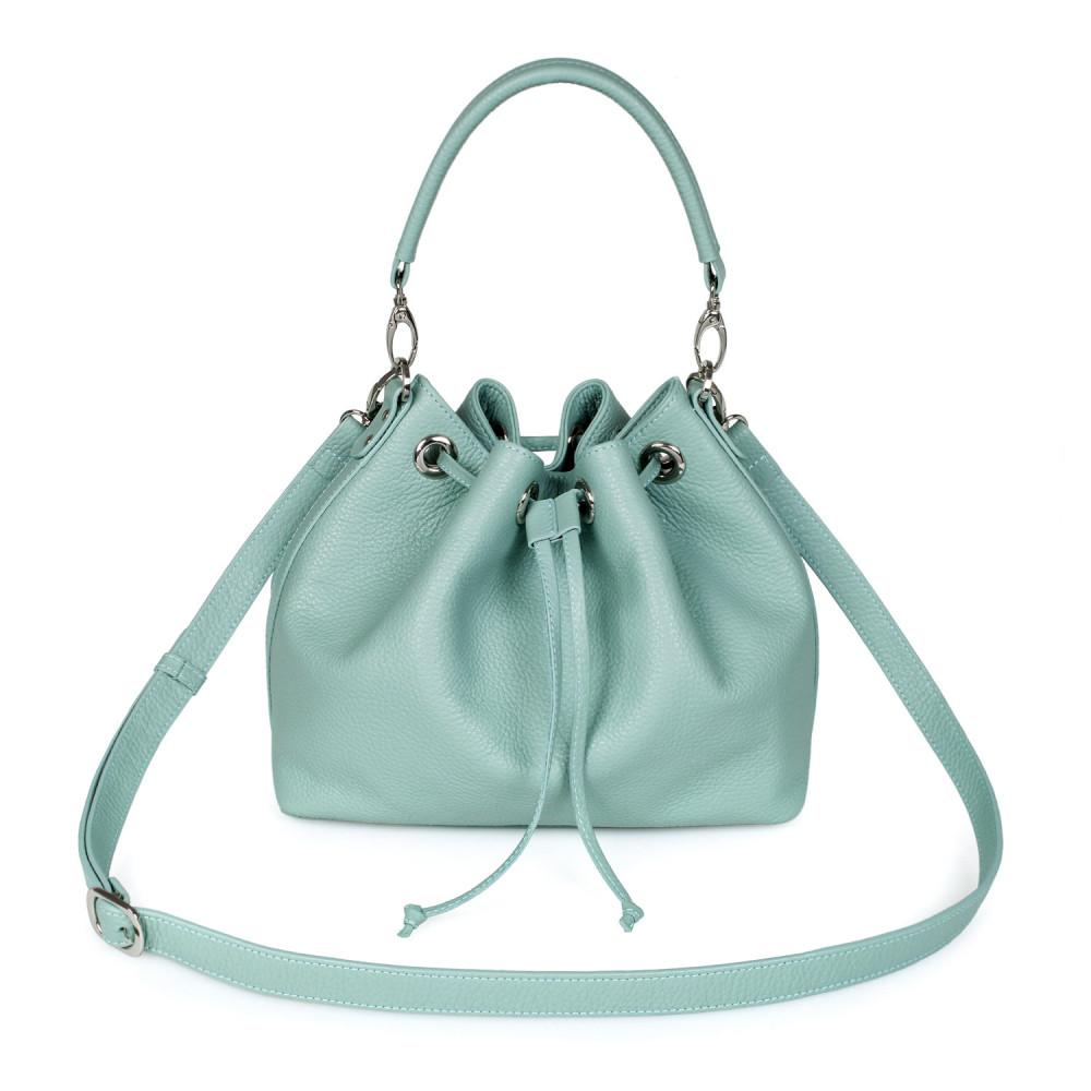 Жіноча шкіряна сумка-мішок Хобо Sonya KF-2745-